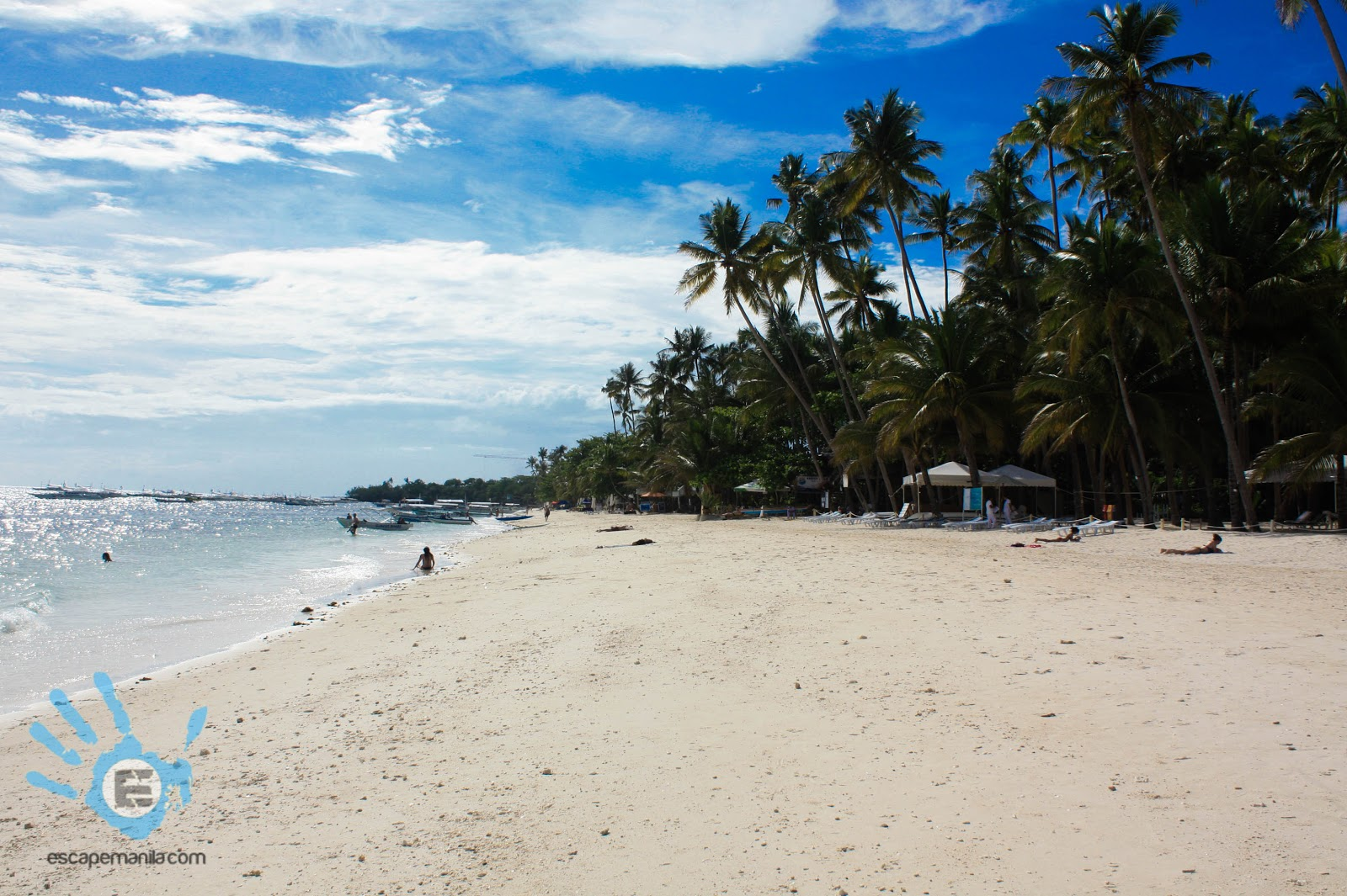 Alona Beach in Panglao