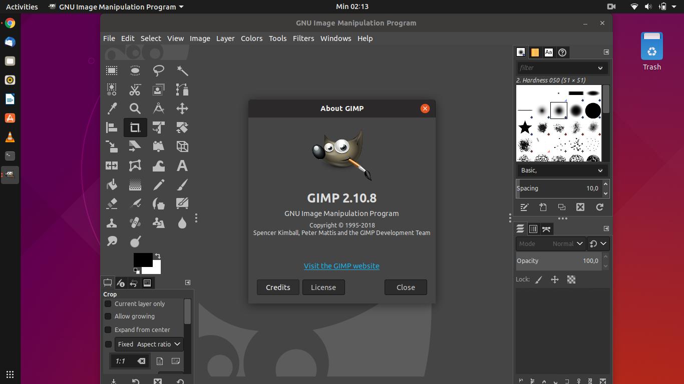 Install Gimp 2 10 8 on Ubuntu 18 04 'Bionic Beaver' and