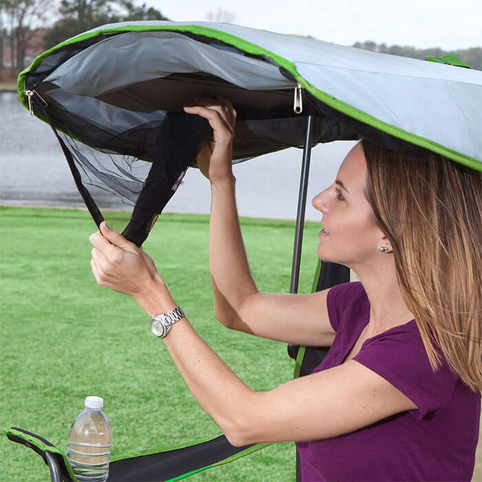 Amazon Is Selling A Canopy Chair Designed To Protect From Bugs