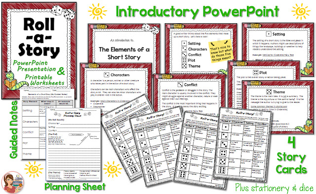 https://www.teacherspayteachers.com/Product/Short-Story-Creative-Writing-Roll-a-Story-1434808