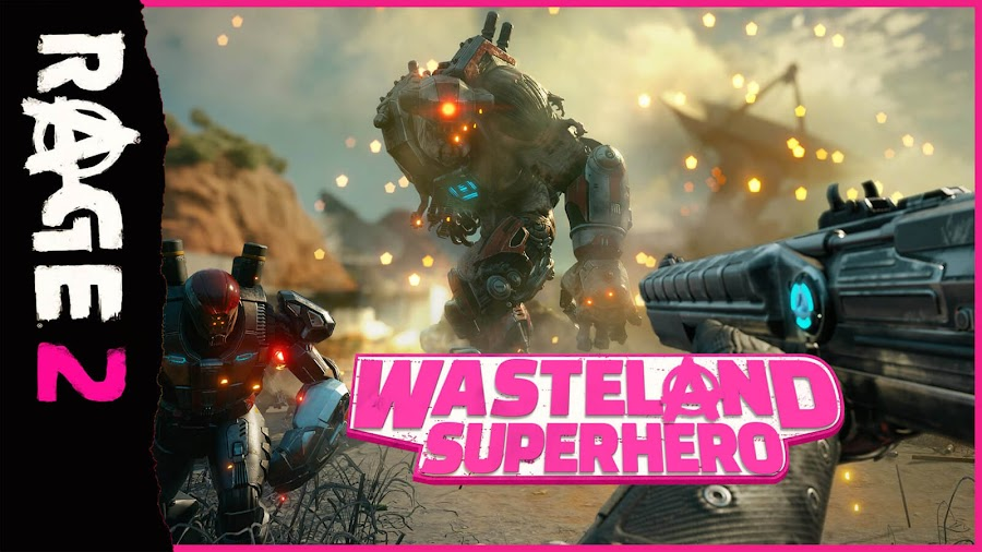 rage 2 wasteland superhero bethesda ps4