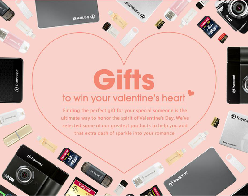 Transcend has prepared their production business Transcend Valentines Gift Guide 2017!