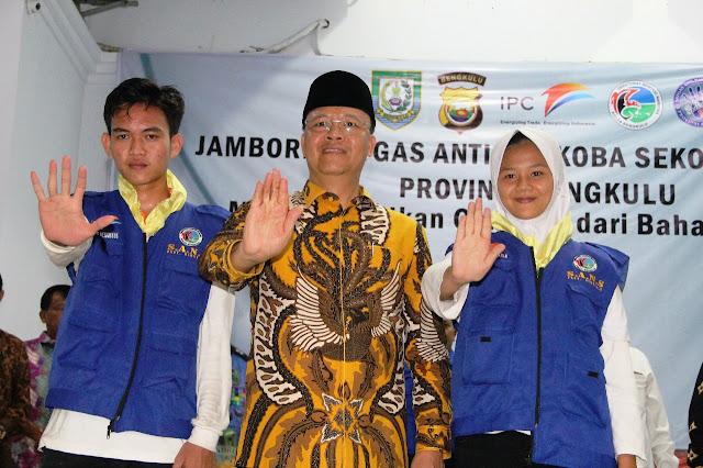 Jambore S.A.N.S, Rangkul Pelajar Perangi Narkoba