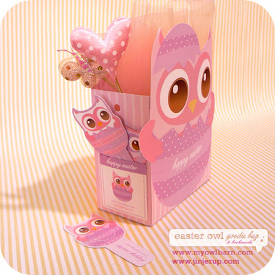 Craftionary easter owl goodie bag easter free printables negle Choice Image