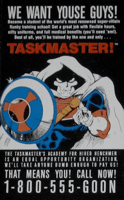 Taskmaster business card