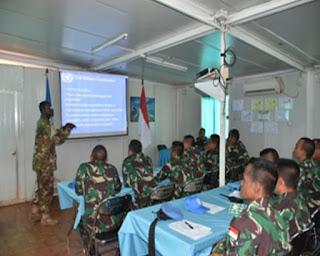 20 Personel Satgas Kizi TNI Laksanakan Contingent Training Capsule di Afrika