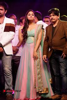 Actress Naina Ganguly Stills in Long Dress at Vangaveeti Audio Launch  0129.JPG