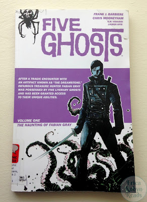 Five Ghosts Vol. 1: The Haunting of Fabian Gray by Frank J. Barbiere cover