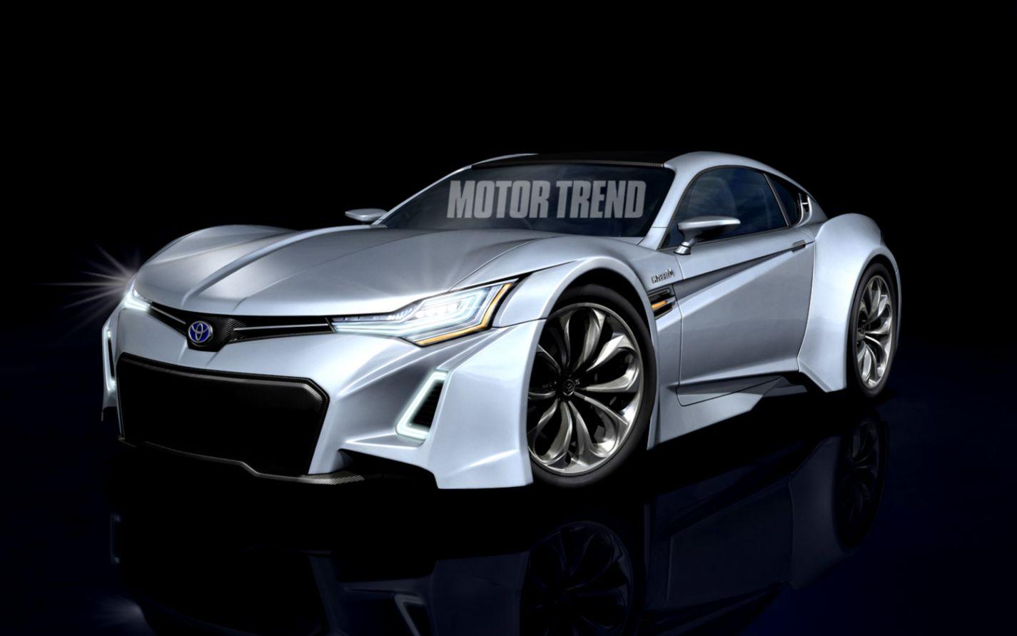 Toyota Hybrid Concept Car Wallpaper Hd Wallpaper Background Hd