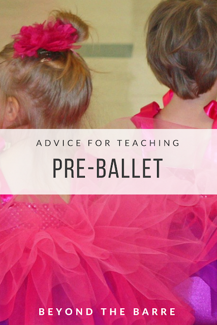 Pre-Ballet Pointers