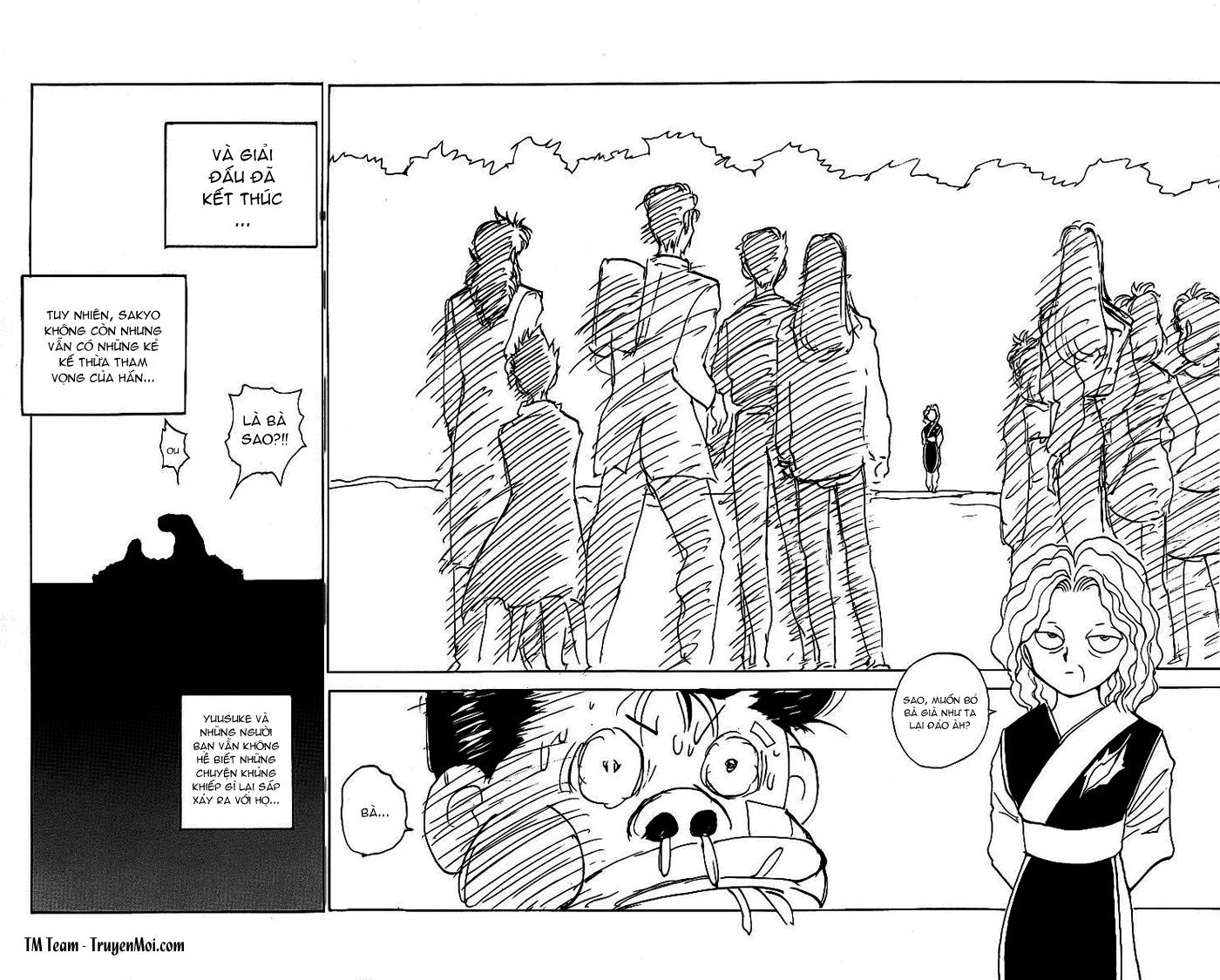 Hành trình của Uduchi chap 112: con người thật của toguro trang 18