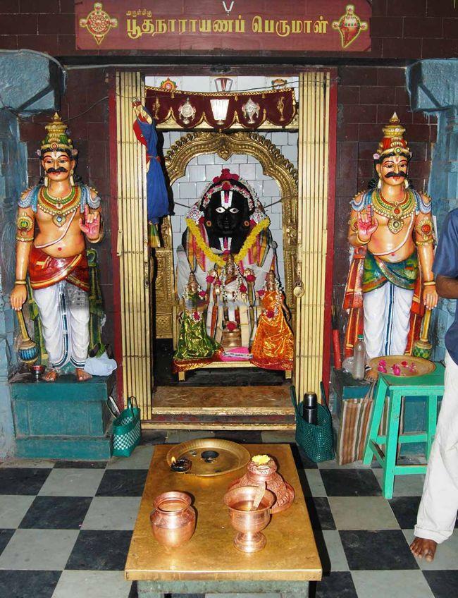 Sri Boodha Narayana Perumal Temple Main Deity