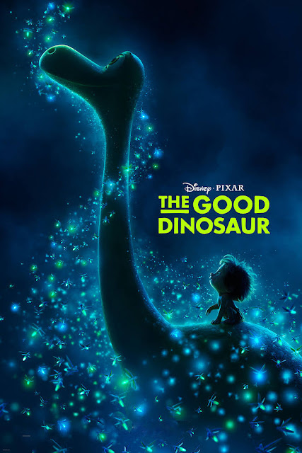 Cartel película de Pixar Animation Studios The Good Dinosaur