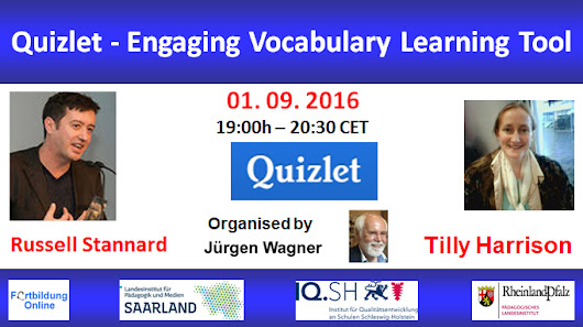 Webinar with Russell Stannard: Quizlet - Engaging Vocabulary Learning Tool