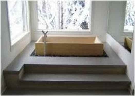 Bathroom Design With Japanese Soaking Tub Exotic