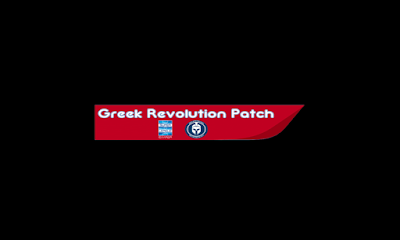 PES 6 GREEK Revolution Patch v1.0 AIO Season 2018/2019