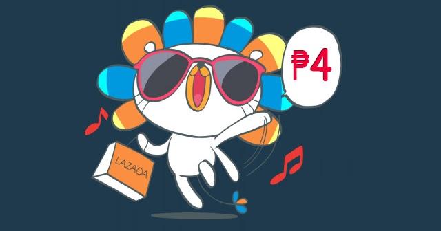 Lazada Celebrates 4th Birthday With ₱4 Deals, Flash Sales