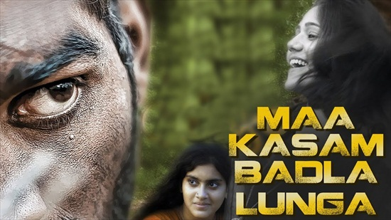 Maa Kasam Badla Lunga 2018 HDRip 300MB Hindi Dubbed 480p Watch Online Full Movie Download bolly4u