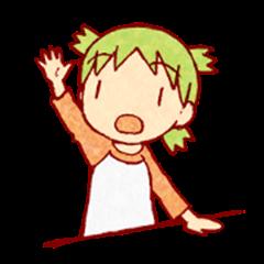 Yotsuba&! Sticker 2