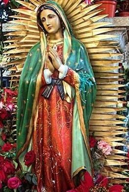 Imagen de nuestra Santísima Virgen de Guadalupe a color