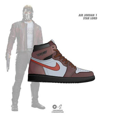 8. Star Lord x Nike Air Jordan 1