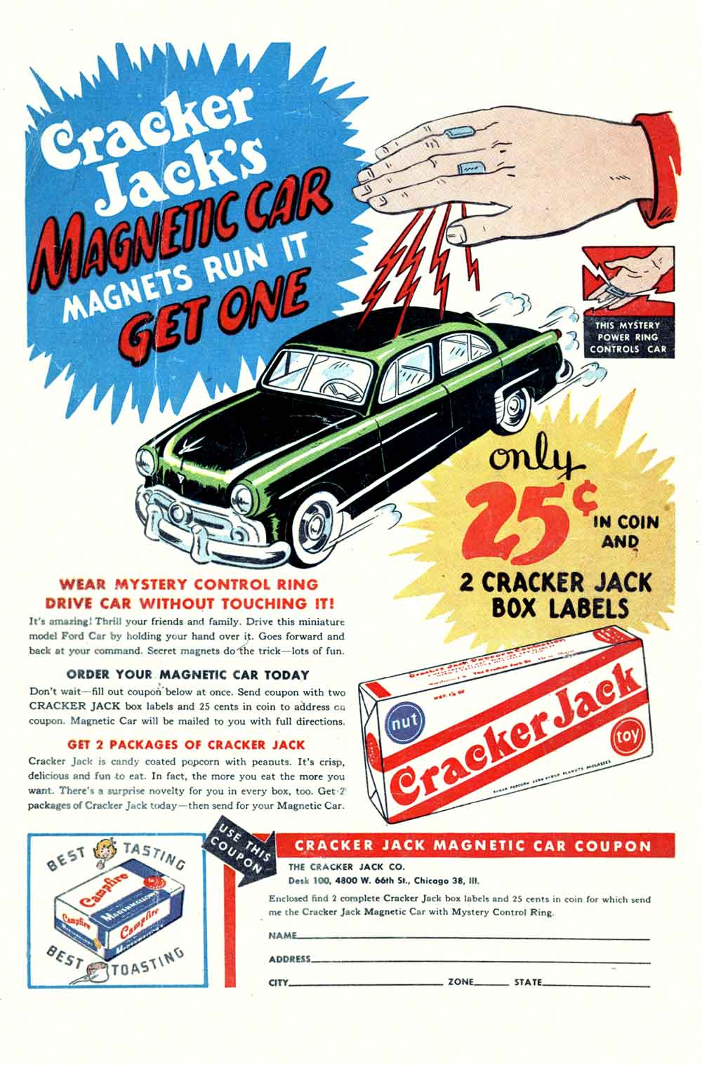 small resolution of cracker jack s magnetic car
