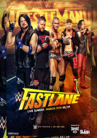 WWE Fastlane 2018 PPV HDTV 480p 500MB 11 March 2018