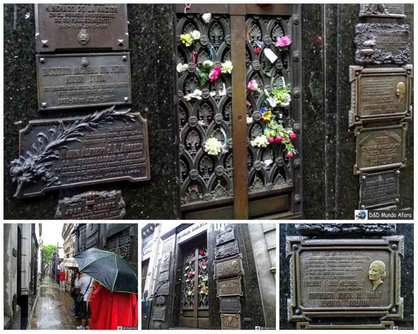 Evita Peron - o que fazer em Buenos Aires, Argentina - Cemitério da Recoleta