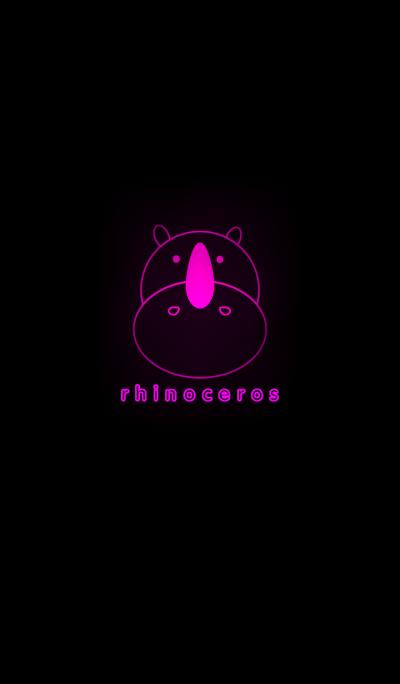 light rhinoceros