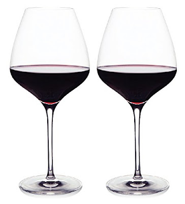 "If you're going to have only one wine glass, make it a ""red"" one!"