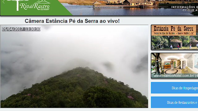 serra do rio do rastro ao vivo