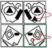 Penyelesaian Figural No. 31 TKPA SBMPTN 2016 Kode Naskah 321, pola gambar, pencerminan dan duplikasi objek