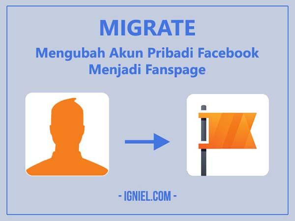 Migrate: Mengubah Akun Pribadi Facebook Menjadi Fanspage - igniel.com