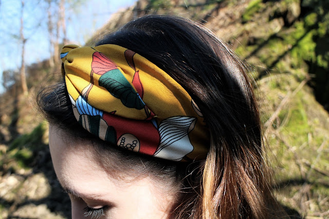 Anthropologie headband - festival fashion accessory