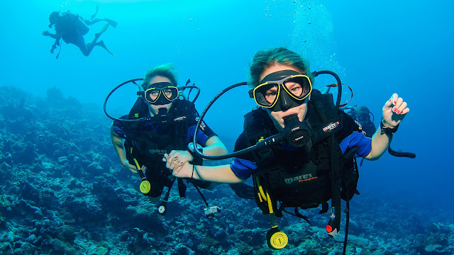 Scuba Diving in Halong Bay - a pleasant experience