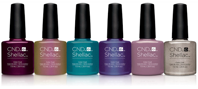 Cnd Shellac Amp Vinylux Nightspell Fall Collection 2017
