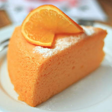 Egg Yolk Cake Orange