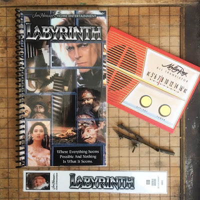 Labryrinth VHS booklet - RDS