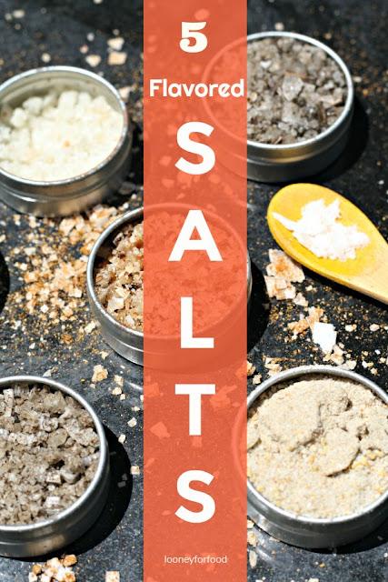 http://www.looneyforfood.com/5-flavored-salts/