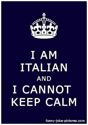 Funny Italian Keep Calm Meme Quote
