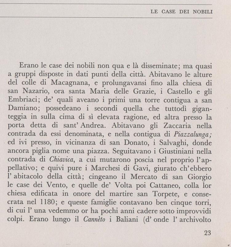 c'era una volta genova : le case dei nobili - Nobili Arredo Bagno Genova