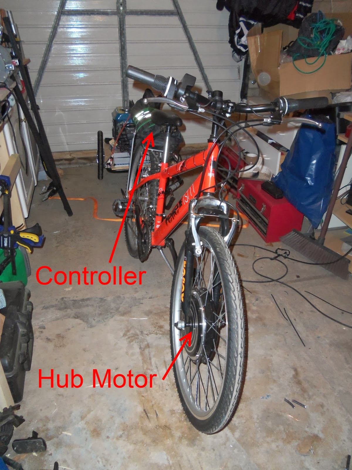 Just thought i'd share with you!: Electric Bicycle with a