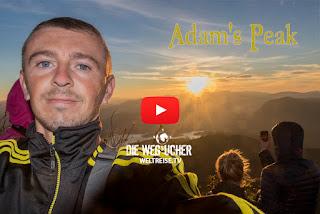 Sri Lanka Adams Peak Sonnenaufgang WELTREISE Arkadij Schell