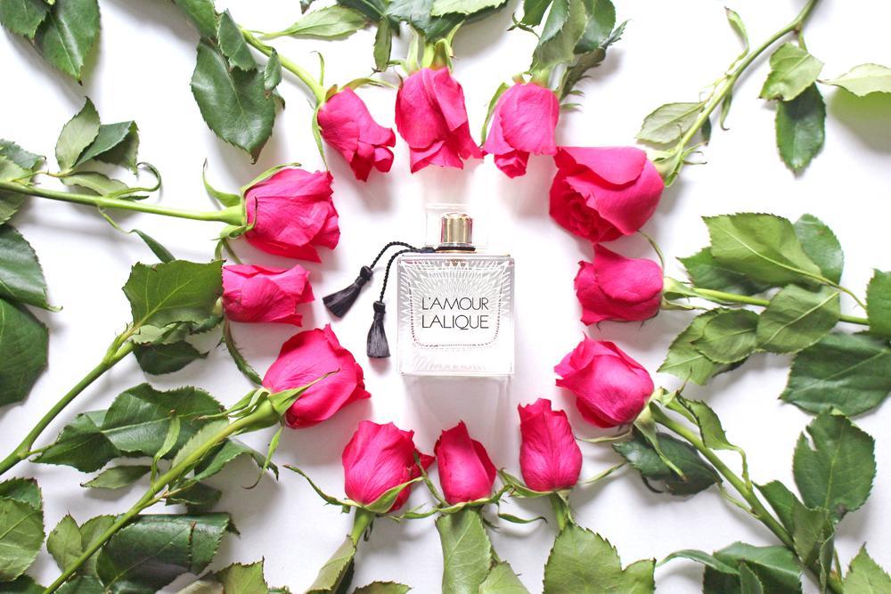 Lalique L'Amour eau de parfum fragrance - UK luxury beauty blog