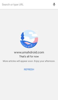 Menghilangkan Suggested Article Google Chrome