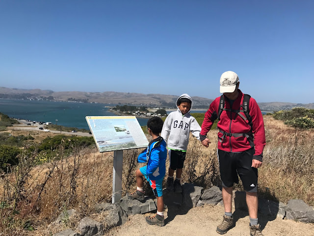 Informational kiosk on Bodega Bay trail