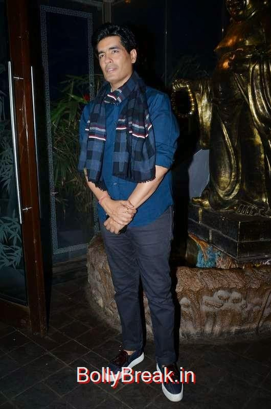 Manish Malhotra, Richa Chadda's Birthday Party Hot Images