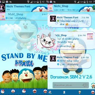 Kumpulan BBM MOD Doraemon V3.0.0.18 APK Terbaru Anti Lemot 2016
