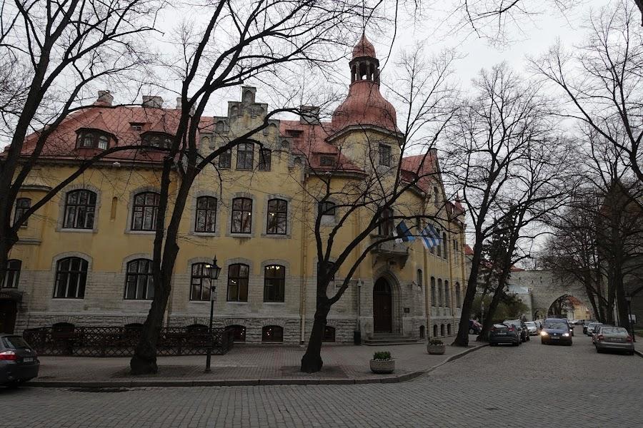 タリン市中央区役所(Tallinna Kesklinna Valitsus)