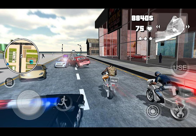 Game Mirip GTA Android Mad City III LA Undercover MOD APK